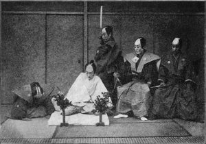 """Imagen extraída del libro """"The Gist of Japan – The Islands, Their People, And Missions"""". R.B. Peery, 1897."""