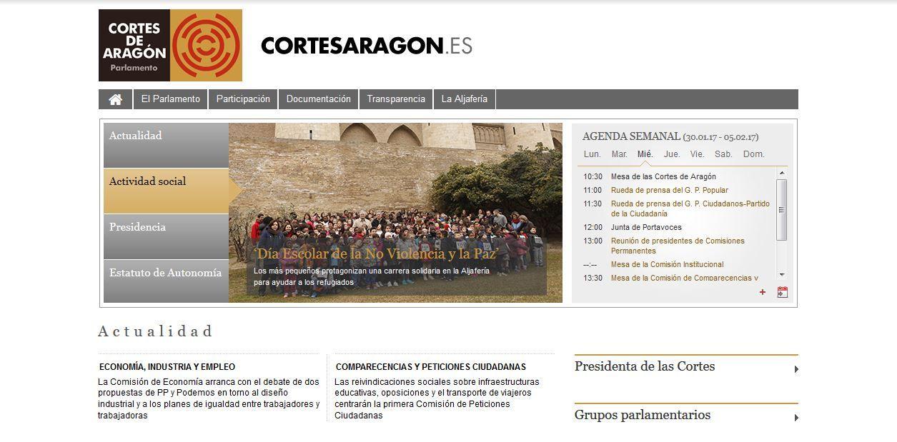 cortes-aragon-concurso-web-rrss