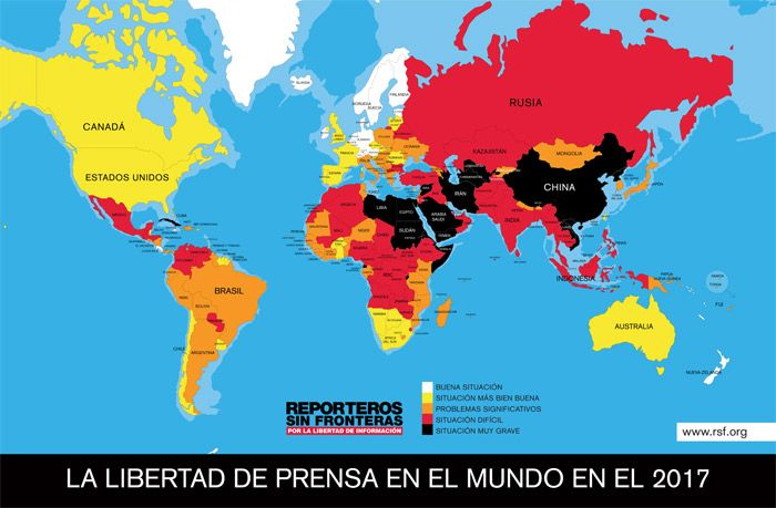 MAPALibertadDePrensa