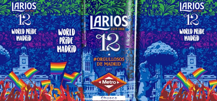 Larios 12_World Pride Madrid