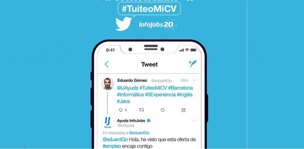 #TuiteoMiCV