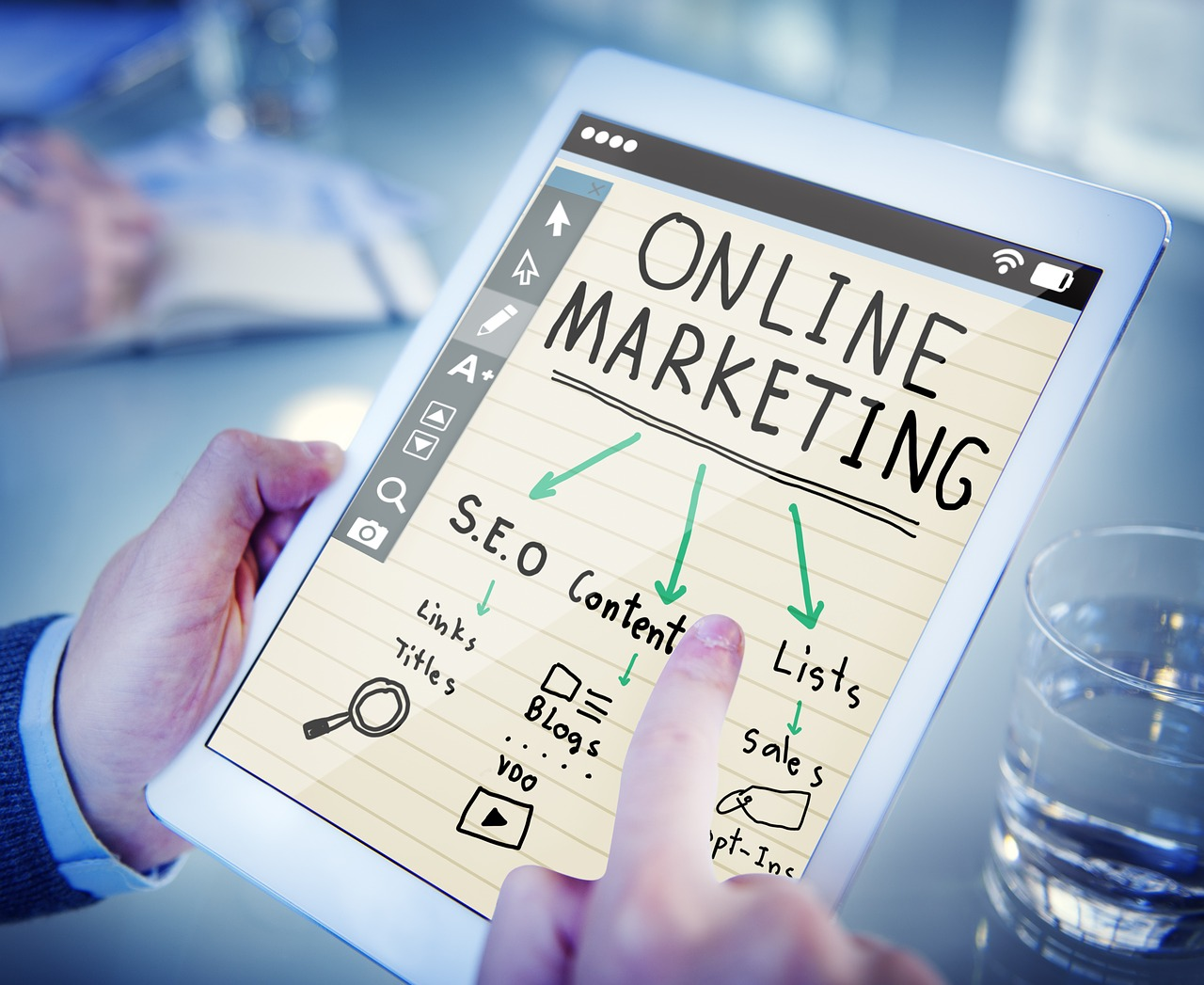 ordenador marketing online