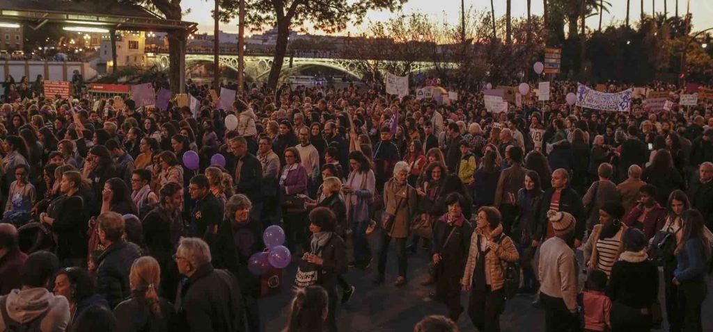 Lugar-y-hora-de-las-manifestaciones-contra-la-violencia-de-género-en-Andalucía