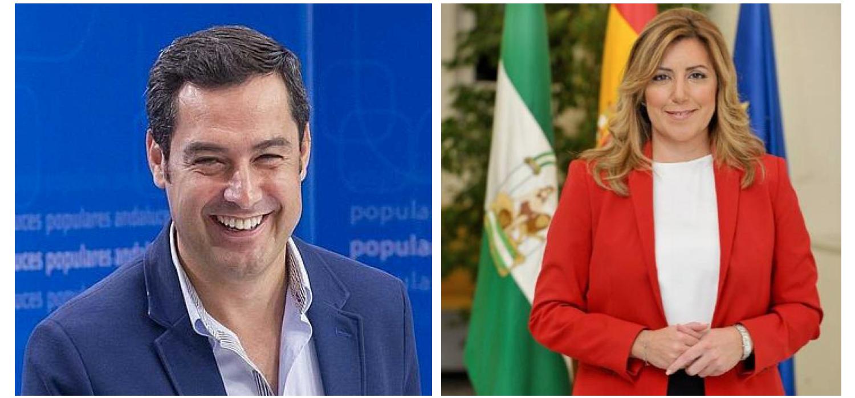 Juanma Moreno Susana diaz