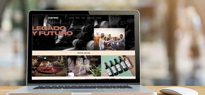 Osborne ha lanzado su nueva web www.osborne.es. y sunueva tienda online.Unifica de todo su ecosistema digital, hasta el momento separado.