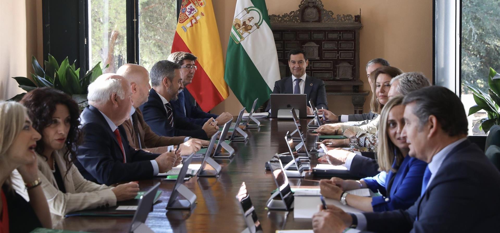 Consejo Gobierno andaluz lunes