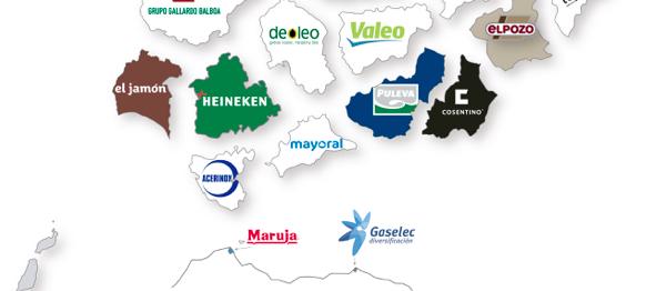 Heineken, Airbus y Endesa son las principales empresas andaluzas en 2019