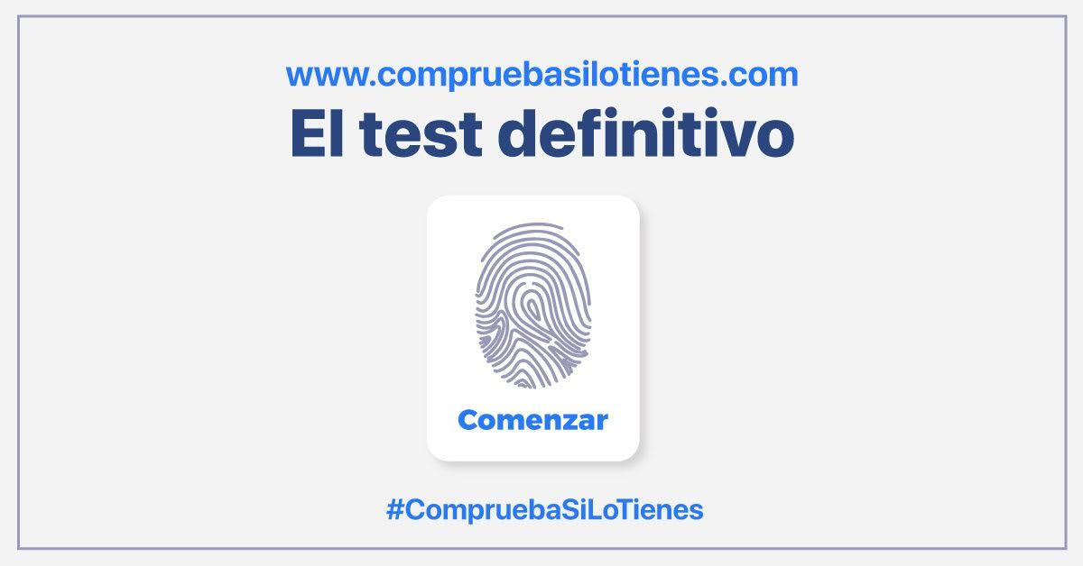 Cualquier persona puede realizar gratis un test y en menos de un minuto averiguar si sus síntomas son compatibles o no con un mal conocido que nos acecha.