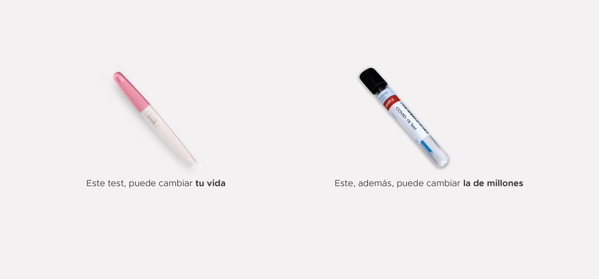 #ElAnálisisDefinitivo es la otra campaña de concienciación de Parnaso Comunicación en esta crisis COVID19. Esta llama la atención sobre los test masivos.