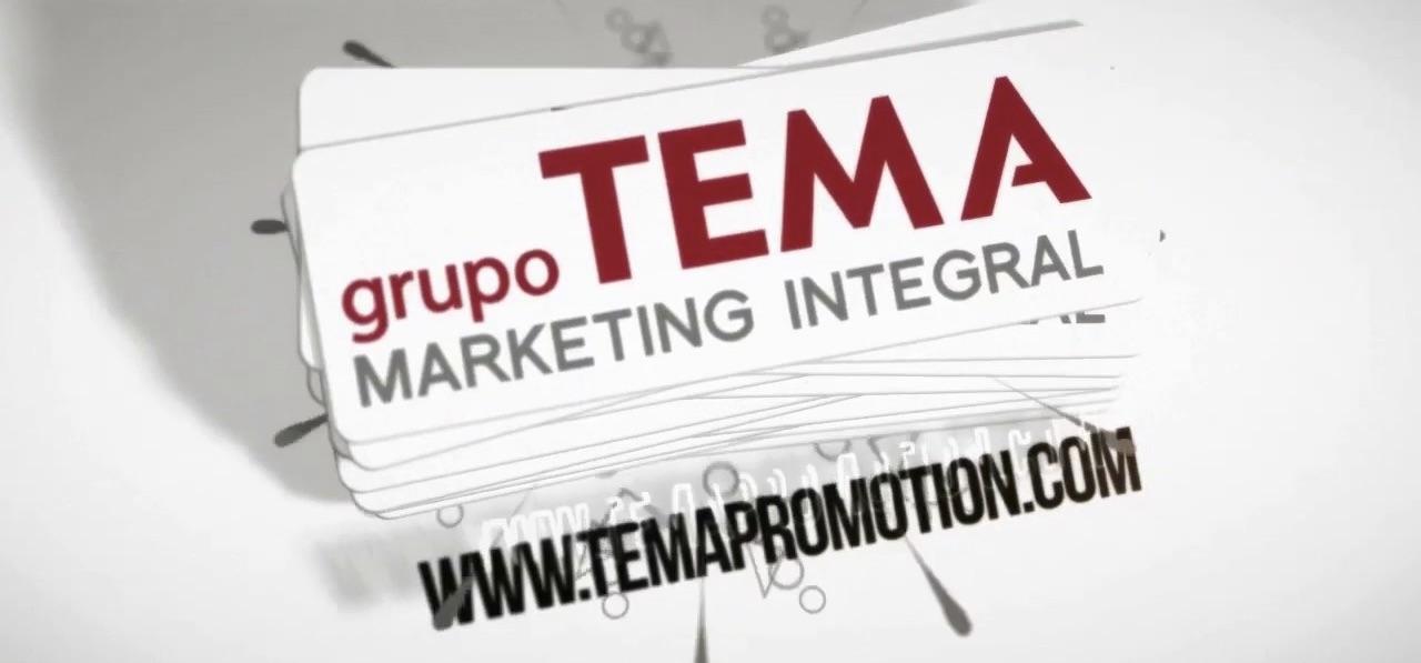 El Grupo Tema Marketing Integral es una empresa con más de 35 años de andadura dedicada a ofrecer soluciones de marketing a las empresas.