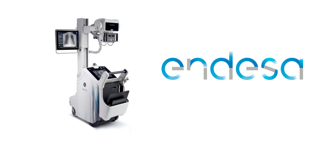 Se trata de equipos de alta gama, de la marca General Electric Healthcare. Forma parte del plan Endesa para combatir el COVID. 25 millones de euros.