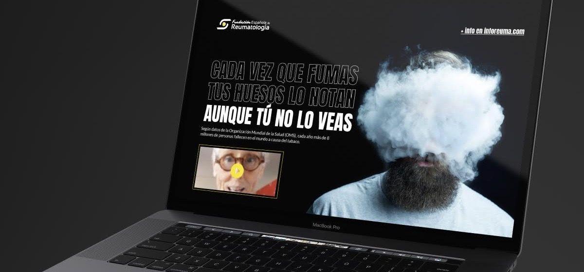 Celebrities de la televisión y el deporte han participado en una campaña lo dañino que es el tabaco para las enfermedades reumáticas.