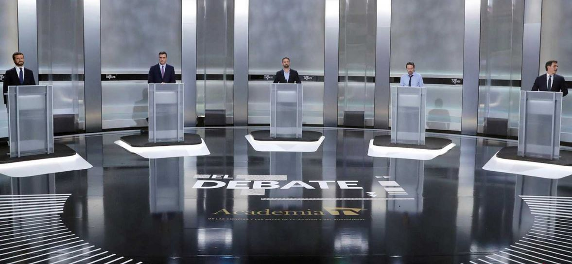 Audiencia-debate-candidatos-gobierno-elecciones-10N