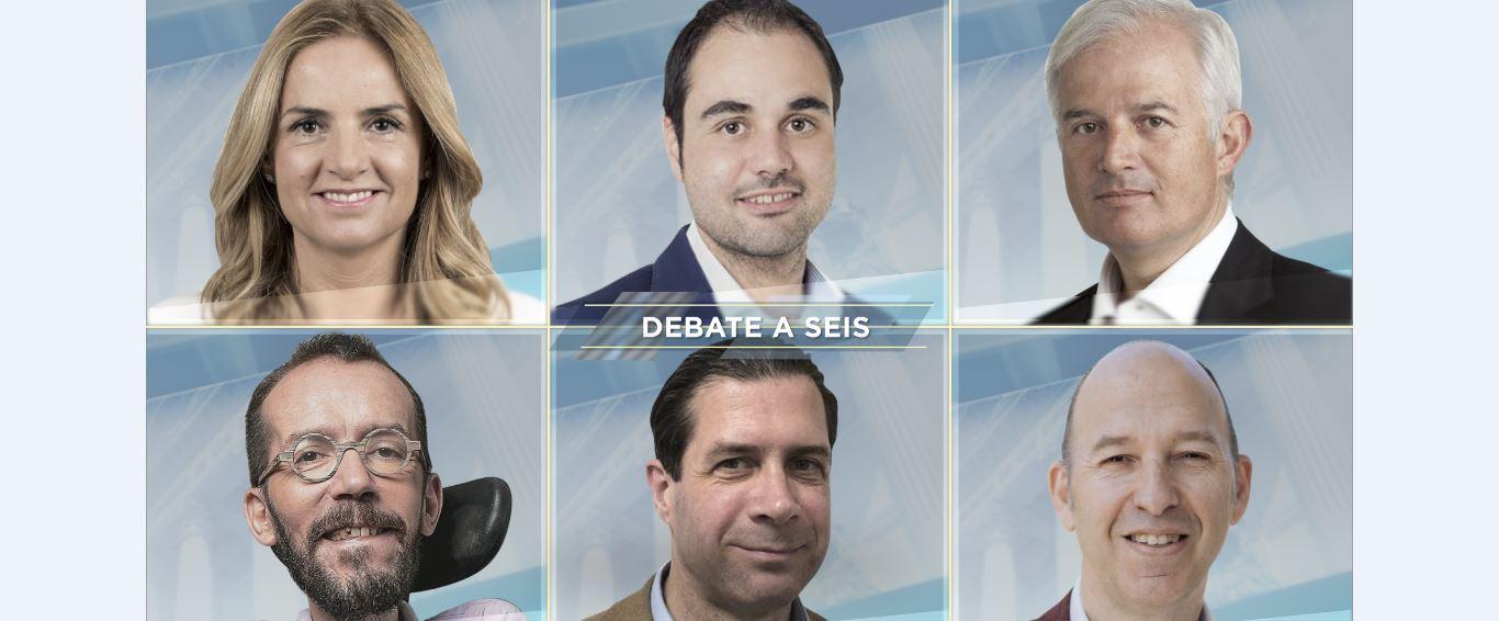 Debate-candidatos-congreso-Aragon-TV-Radio