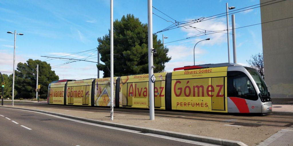 Prueba-piloto-tranvía-zaragoza-publicidad-exterior