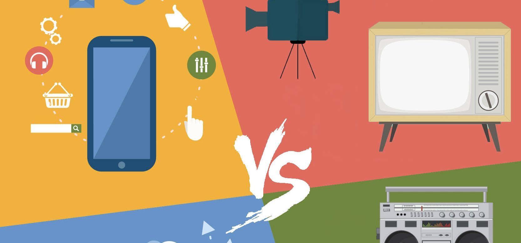tradicional vs digital