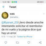 Ryanair reembolso vuelos cancelados coronavirus