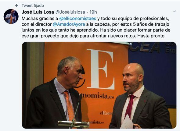 José Luis Losa Confidencial