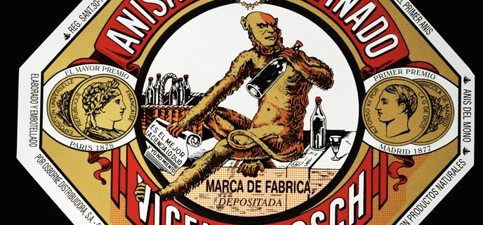 Anís del Mono, la marca más emblemática de anís de España celebra su 150 aniversario e inaugura exposición en la Sala de la Fundación Osborne en El Puerto.