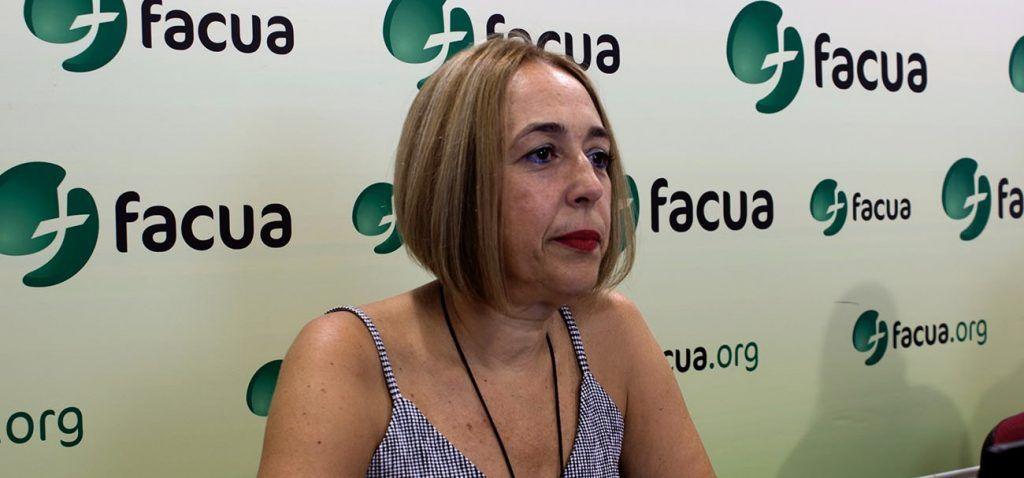 Sustituye a Paco Sánchez Legrán. . La sevillana se convierte de esta manera en la nueva presidenta nacional. Rubén Sánchez será el nuevo secretario general.