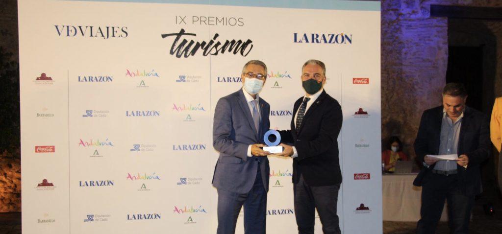 El Rincón de la Victoria, junto a Garcia Paje, se convirtió en uno de los grandes protagonista de la Gala de los IX Premio de Turismo de La Razón.