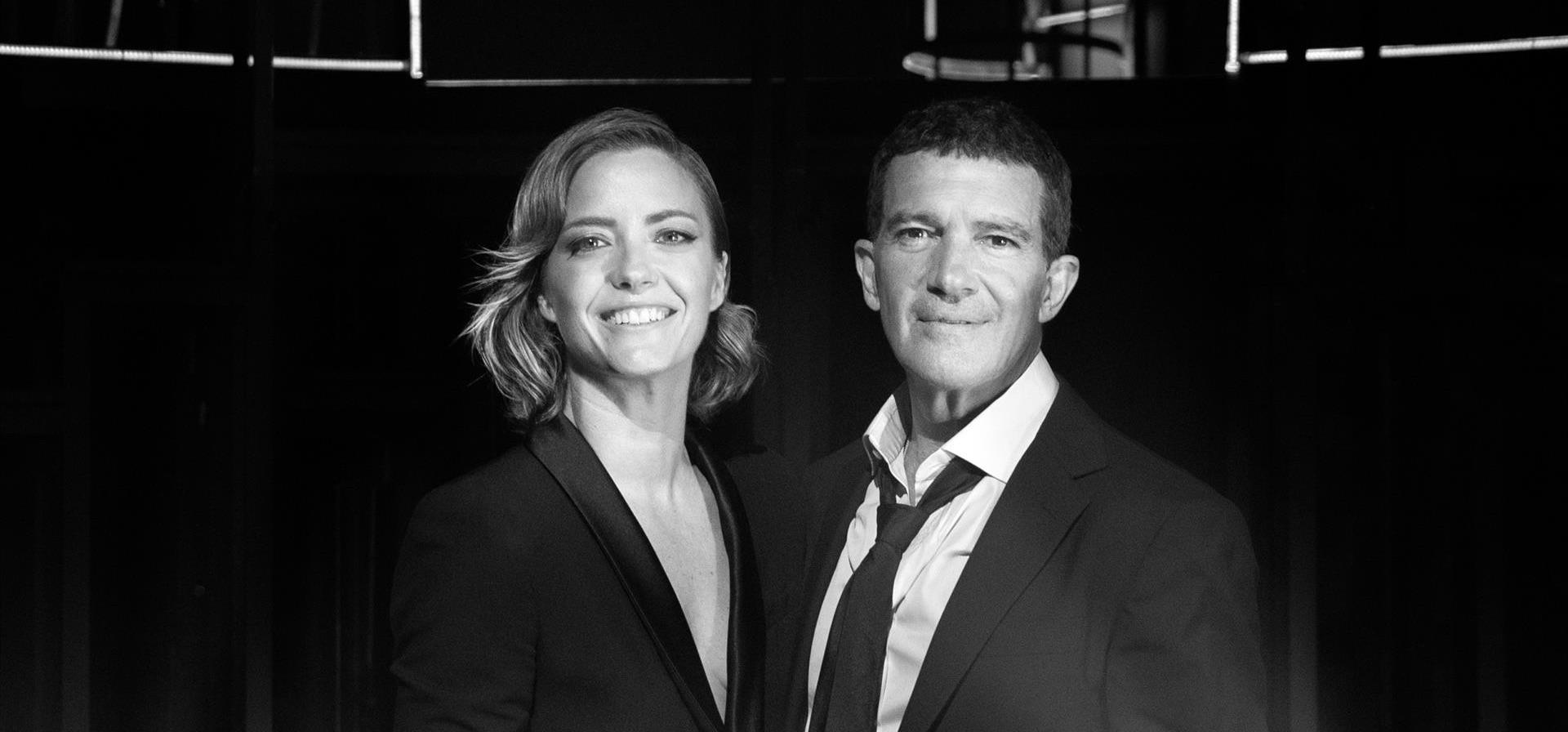 De los Goya a Amazon Prime Video. Estos son los dos proyectos inminentes de Antonio Banderas y María Casado, que ya preparan 'Escena en Blanco y Negro'.