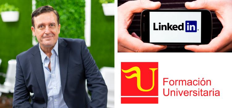 Formación Universitaria ha firmado un acuerdo con Linkeding Learning para que 5.000 de sus ex-alumnos puedan acceder a formación complementaria en la misma.