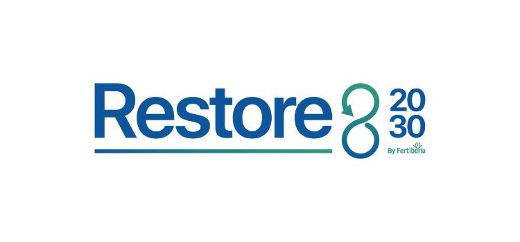 """Fertiberia ha presentado una estrategia de branding """"Restore 20/30"""" para englobar el proyecto definitivo de sellado de las balsas de fosfoyesos."""