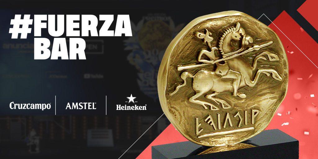 HEINEKEN España ha sido reconocida con los Premios Eficacia con el Oro a la Mejor Acción Táctica por el movimiento social #FUERZABAR.