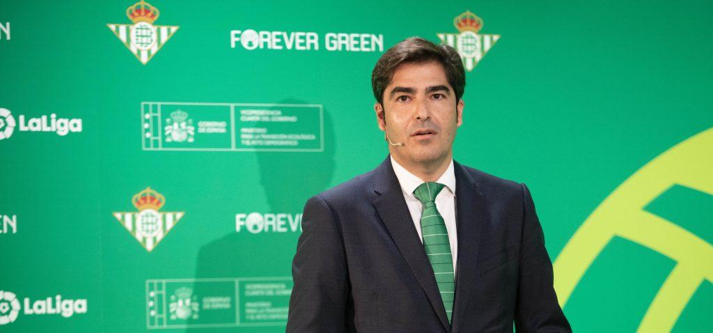 El Real Betis pone en marcha 'Forever Green', una plataforma de sostenibilidad para empresas a través del fútbol