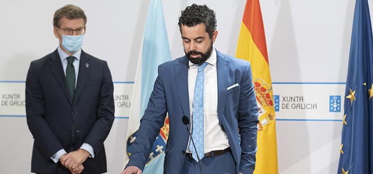 Marcos Gómez Román, nuevo director general de Comunicación de la Xunta