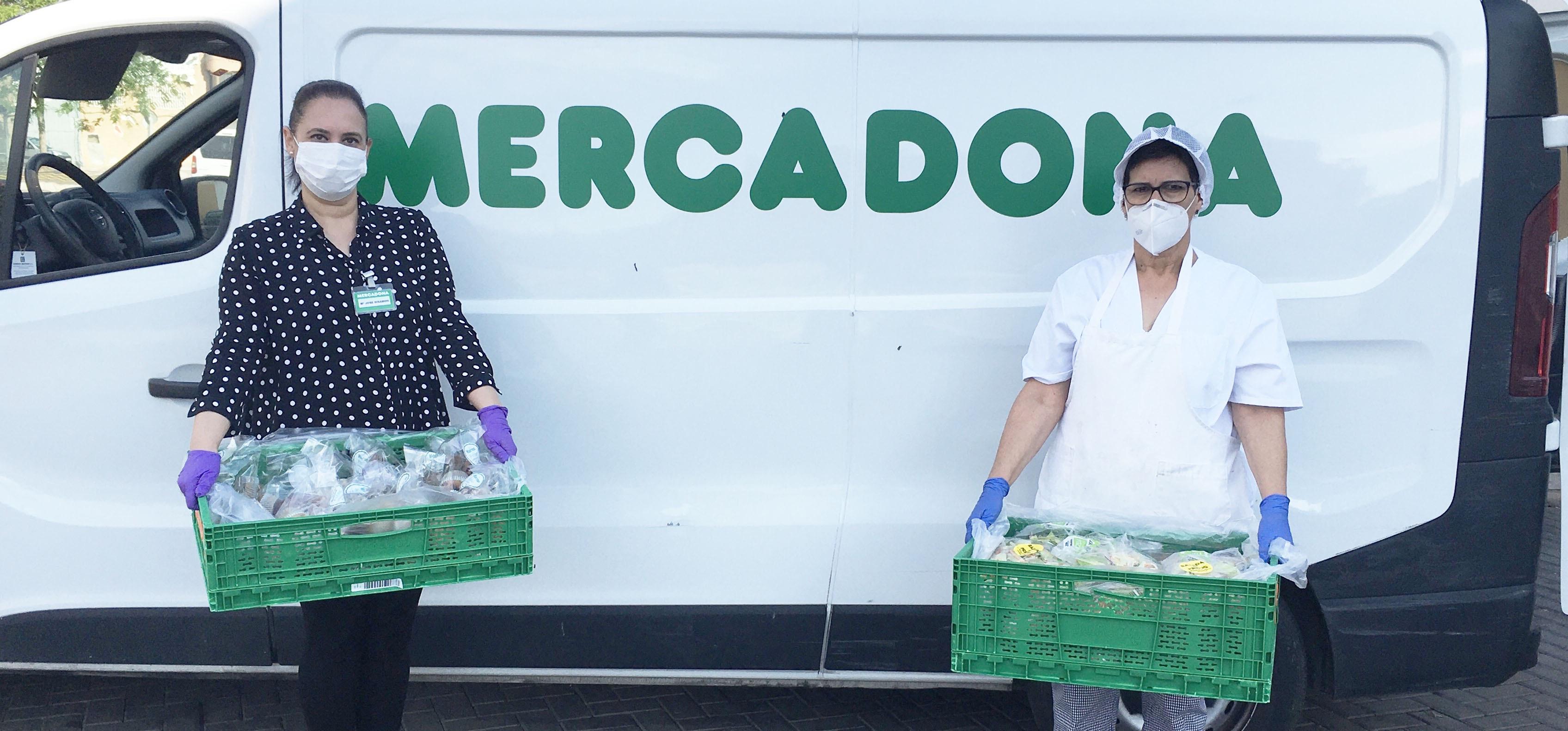 Mercadona ha donado más de 17.000 toneladas de productos en 2020 a comedores sociales, bancos de alimentos y otras entidades benéficas de España y Portugal.