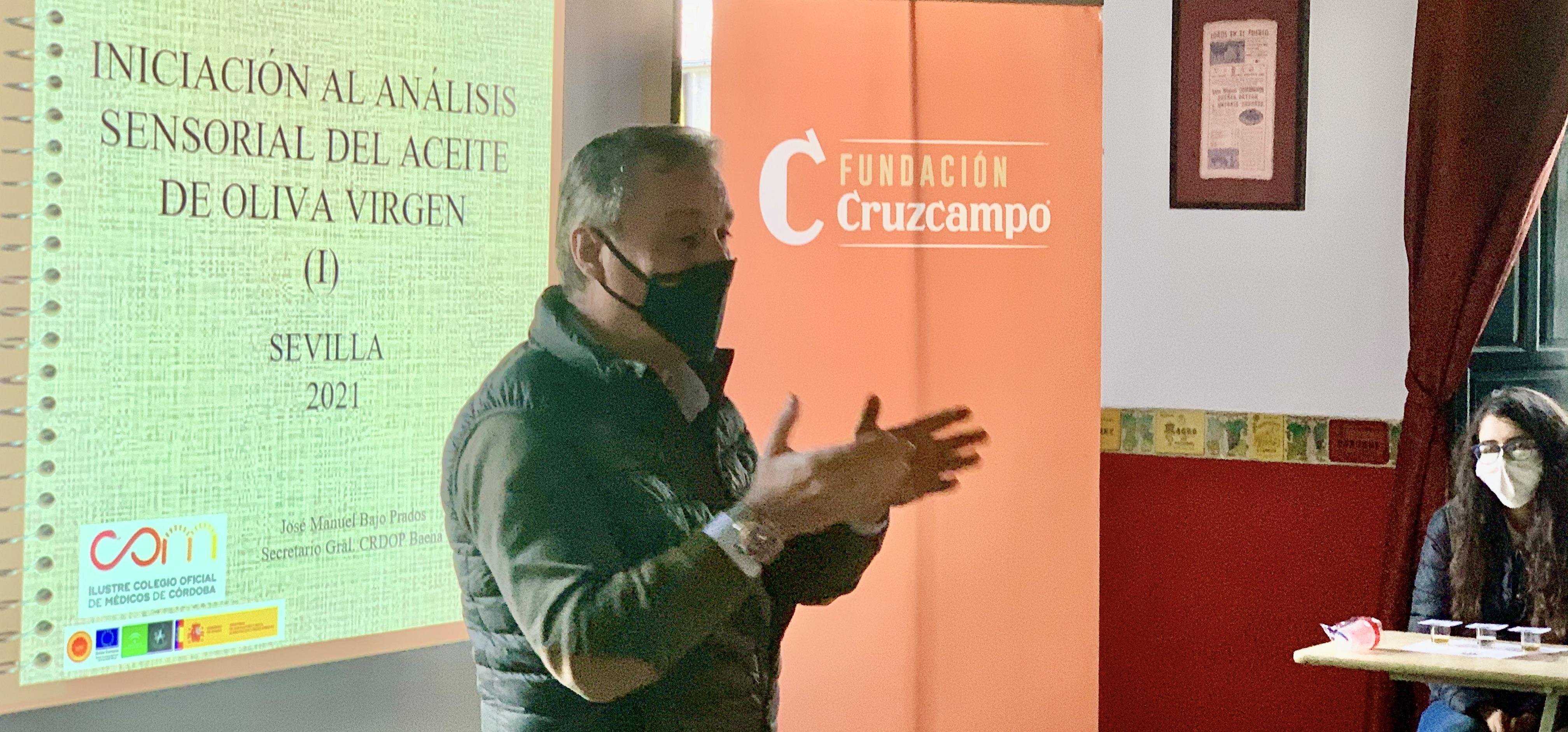 """Esta acción formativa se encuadra dentro de la gira de catas que la DO Baena está realizando por toda España, forma presencial y a través de """"Virtual Taste"""""""