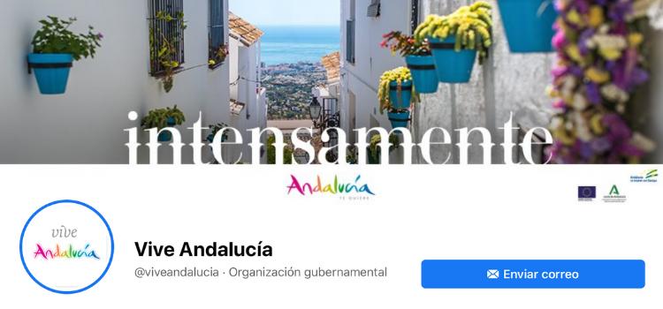 Conoce las redes sociales de Turismo Andaluz para incentivar el destino turístico de Andalucía. Los seguidores avanzan van camino del medio millón.