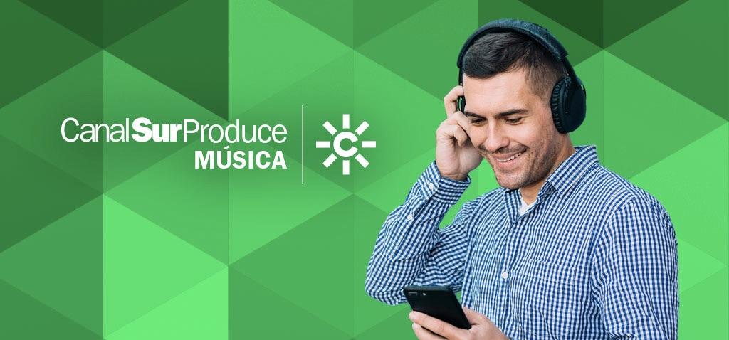 """""""Canal Sur Produce Música"""", un registro público de música online que serivrá de sintonías para nuevos programas o contenidos."""