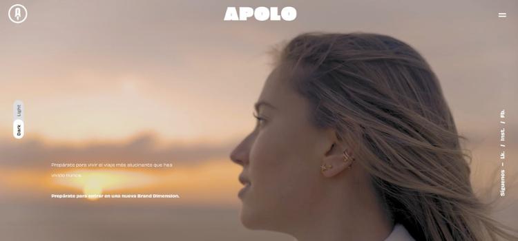 Apolo Propulsora de Marcas, que comanda Sergio Díaz, estrena una nueva web adaptada a su nueva identidad como culmen a un proceso de rebranding interno.