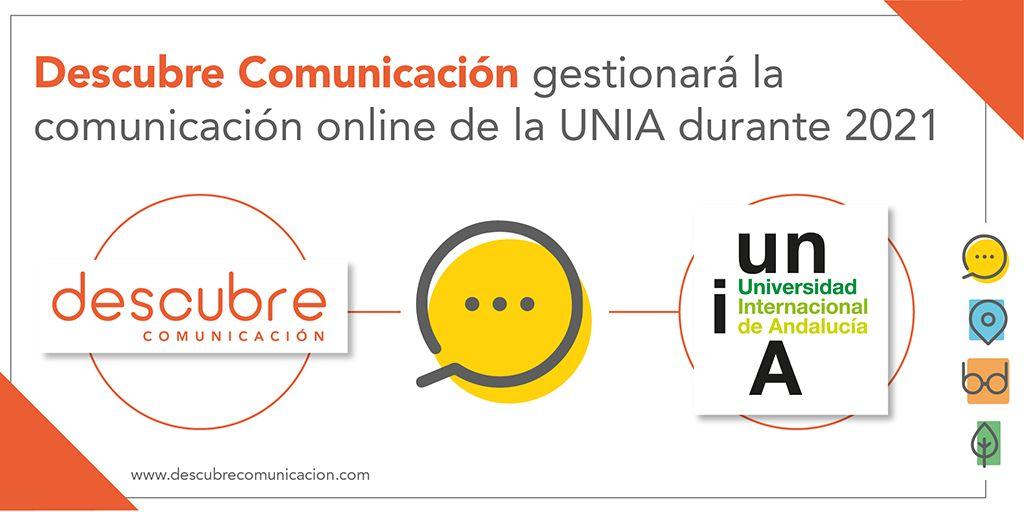 El equipo de Rosa Llacer, fundadora de 'Descubre Comunicación', gestionará la estrategia de redes sociales de la Universidad Internacional de Andalucía.