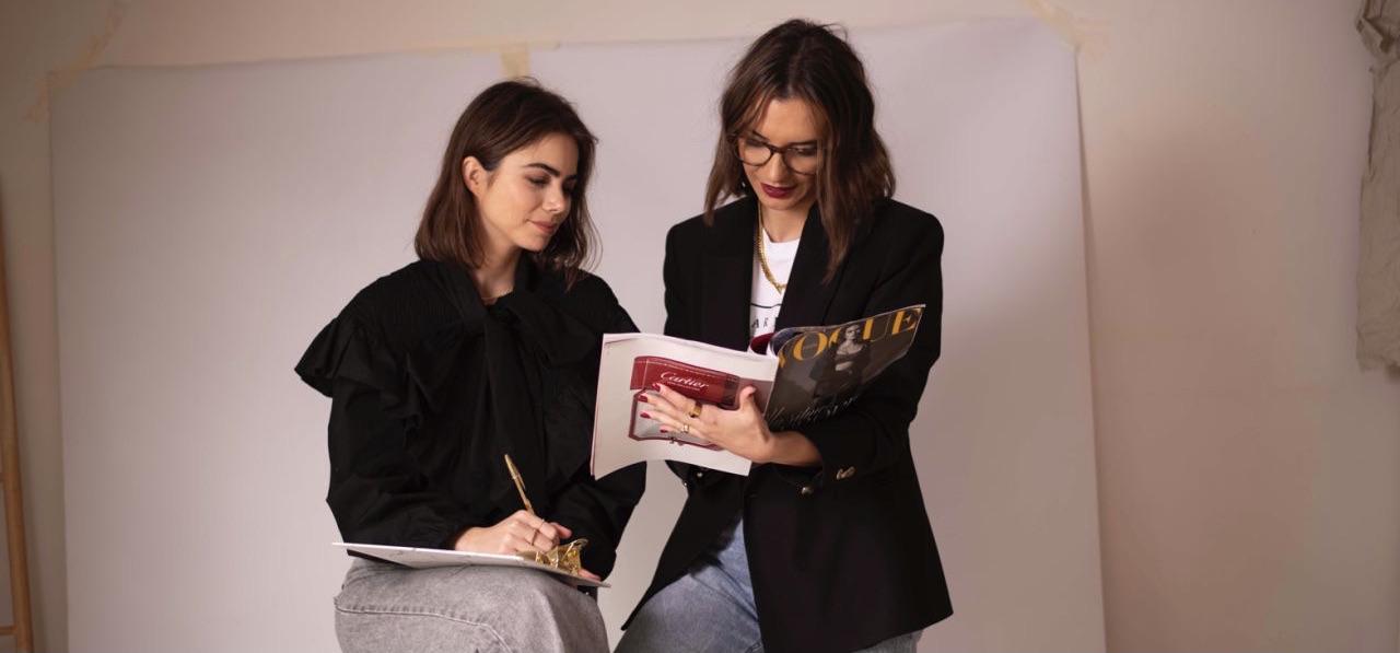 """Ainhoa Rosado ha desarrollado un estilo propio, """"Instaglam"""". Busca a un marketer junior para crecer junto a su proyecto de moda e influencers."""