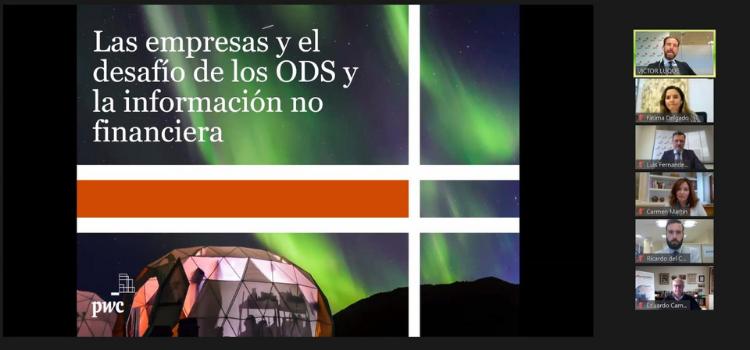 """Luque Navas ha desarrollado la ponencia """"Contexto del estado de Información no financiera, Cómo elaborar un informe no Financiero, caso práctico""""."""