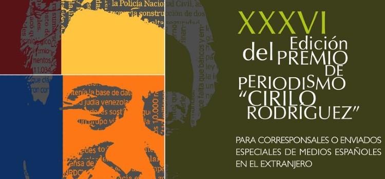 Premio de periodismo Cirilo Rodriguez
