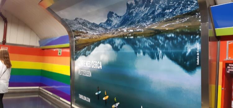 campaña leon metro de madrid