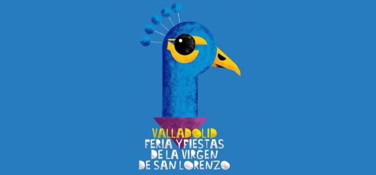 cartel fiestas virgen de san lorenzo valladolid