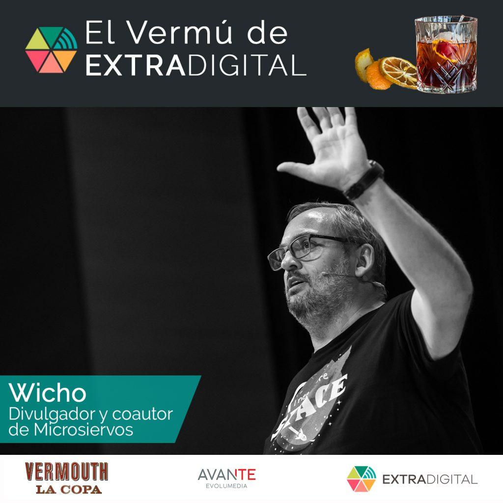 wicho El vermú de Extradigital: Wicho cuadrada