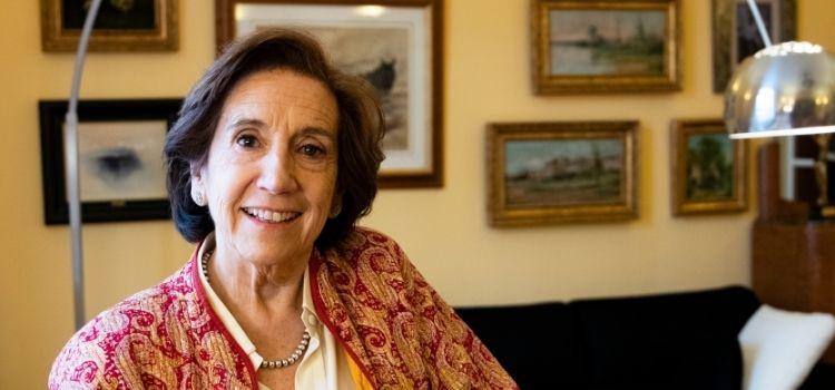 """La periodista madrileña Victoria Prego acaba de publica """"Pequeña Historia de la Transición"""", donde la prenta jugó un papel fundamental."""