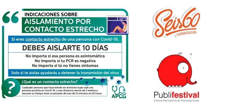 La campaña de Seis 60 para el Distrito Sanitario de Atención Primaria Córdoba y Guadalquivir gana el primer premio en este certamen internacional.