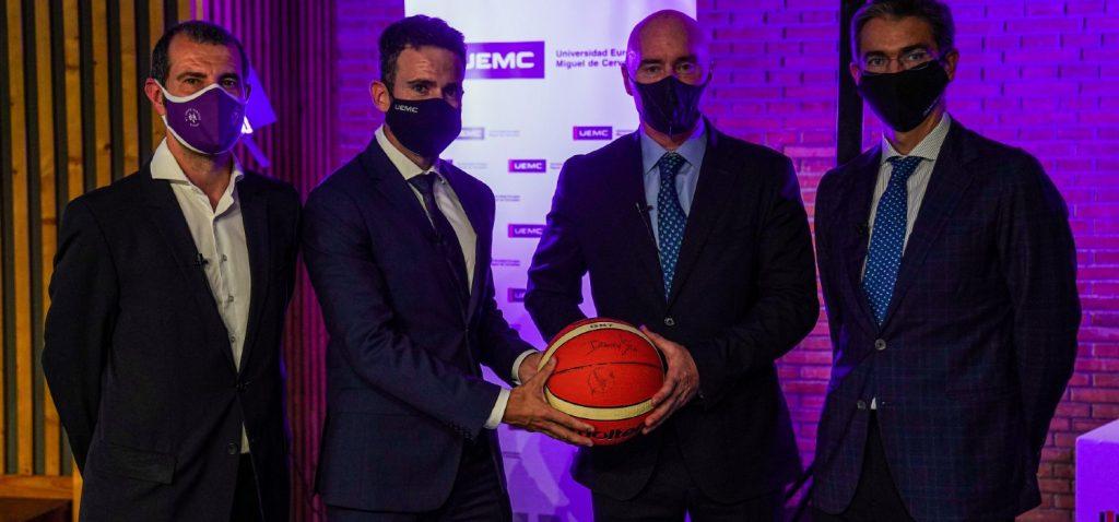 UEMC patrocinador Real Valladolid Baloncesto