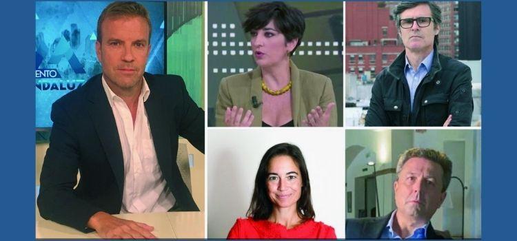 Cuatro ases y un comodín. O lo que es lo mismo Inma Carretero, Eva Saiz, Sandro Pozzi, José Carlos Villanueva ... y Fernando Pérez Monguió. 'Acento Andaluz'.