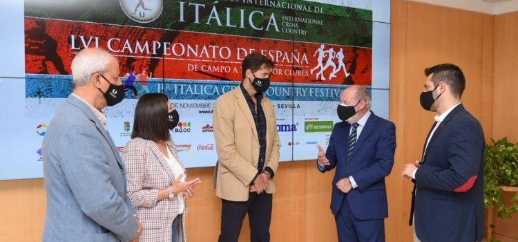 A finale de noviembre se celebrará el Cross Internacional y el Campeona de España de Campo a Través por Clubes. Itálica como marco incomparable.