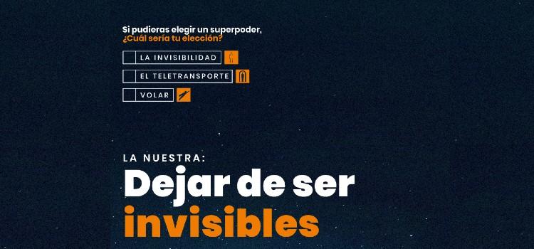 aspace dejar de ser invisibles