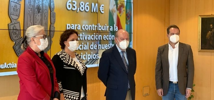 """El Plan Actúa recoje una serie de iniciativas e intervenciones 'para que ningún municipio sevilano se quede atrás en la recuperación económica""""."""